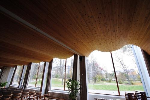 ヴィーヴリ(ヴィボルグ)の図書館 アルヴァアアルト