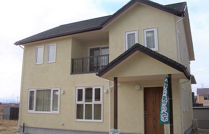 平面と立体に回遊できる家