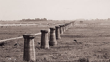 利根川にあった幻の鉄道橋