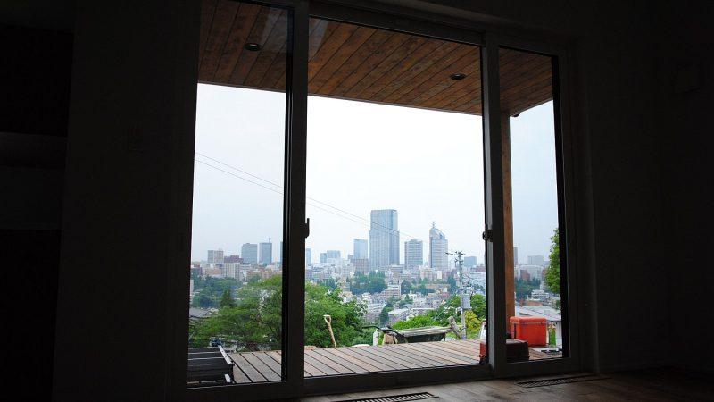 [家づくりblog]仙台の街が見える家 クリーニングと外構工事