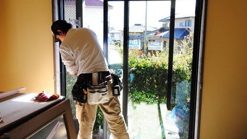[家づくりblog]七ヶ浜の家リフォーム 窓の着替え