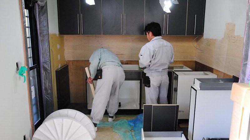 [家づくりblog] 七ヶ浜の家リフォーム キッチンの入れ替え