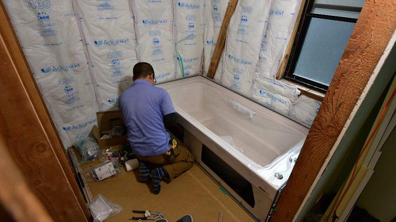 [家づくりblog]七ヶ浜の家リフォーム 浴室をユニットバスへ