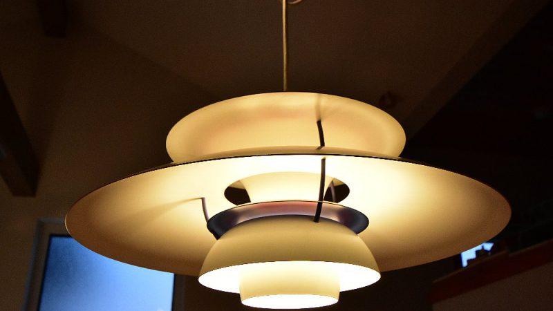 [家づくりblog] 七ヶ浜の家リフォーム 27年前のPH5照明