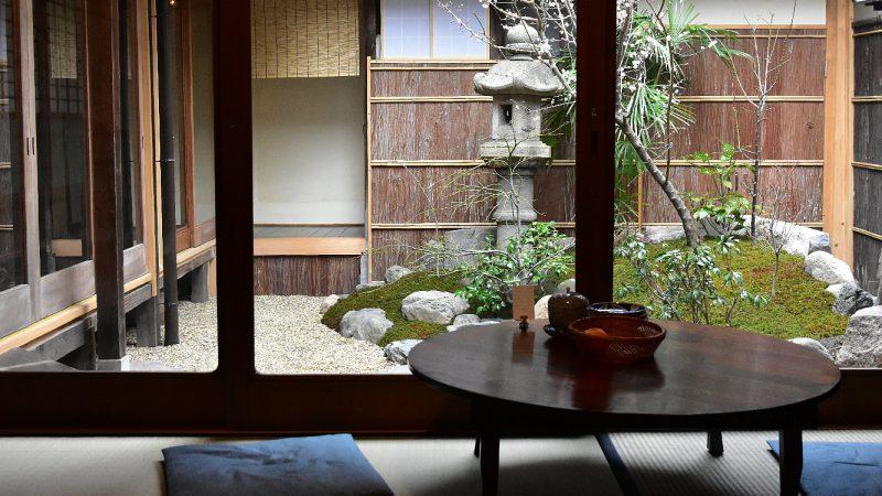 好文舎を訪れて ~京の町家の喫茶店