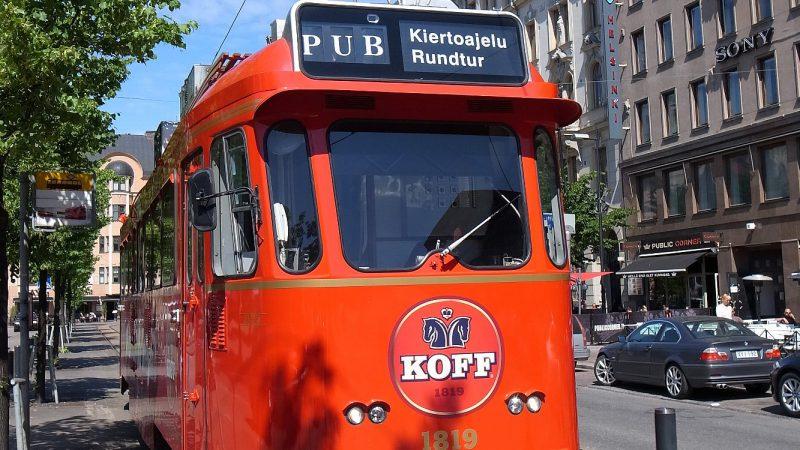 [北欧のくらし] ヘルシンキ市内を循環するパブカー