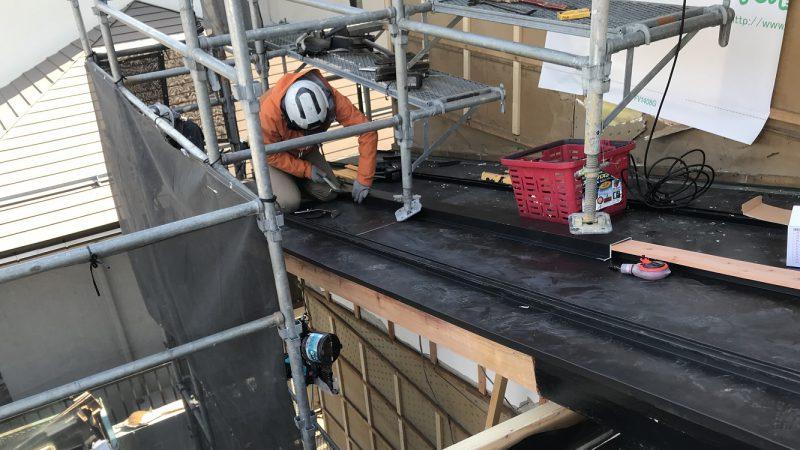 家づくりblog 屋根板金工事