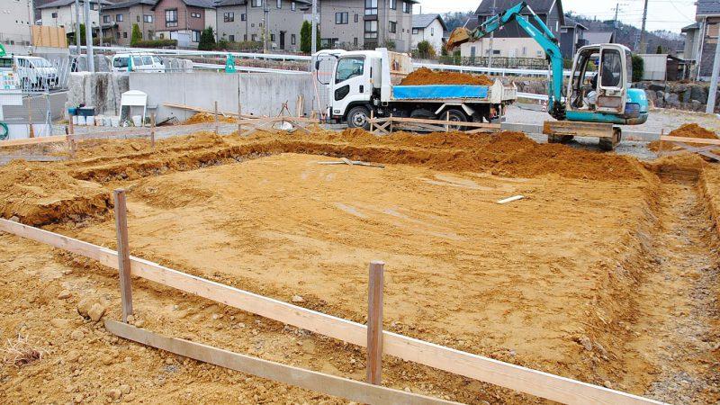 [koagariのある家] 掘削作業
