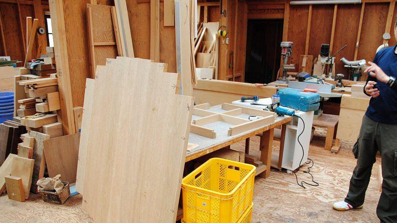[家づくりblog] nokkaでmokkaテーブル製作中