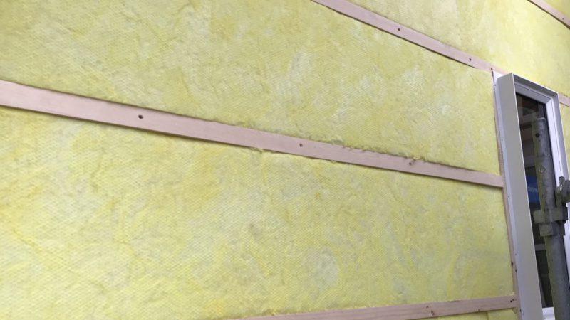 家づくりblog 外部断熱工事