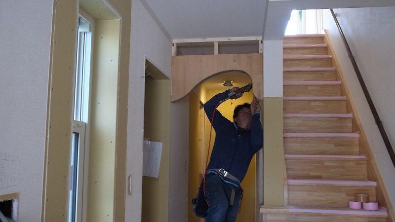 家づくりblog 1/Rの下がり壁づくり(2)