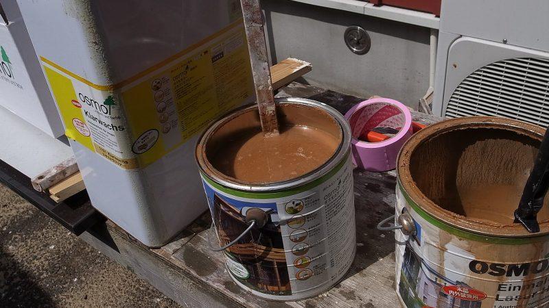 [家づくりblog] 塗料づくり