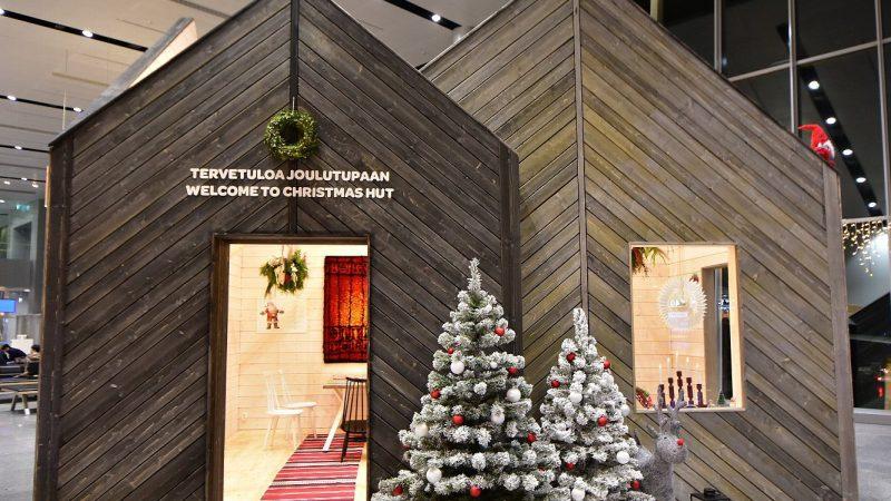 [北欧のくらし] ヘルシンキ国際空港のクリスマスハウス